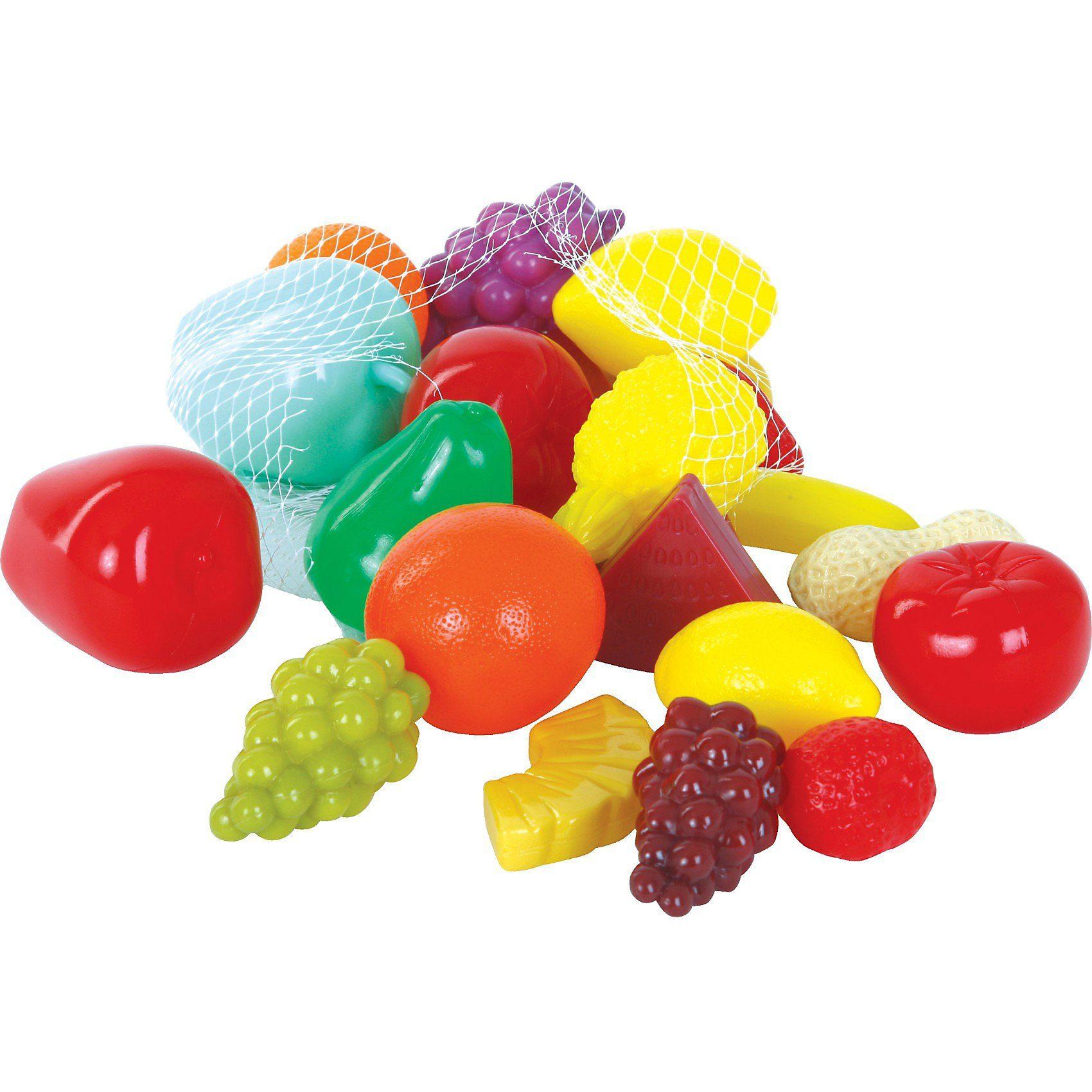 GOWI Spiellebensmittel Früchte, 22-tlg.