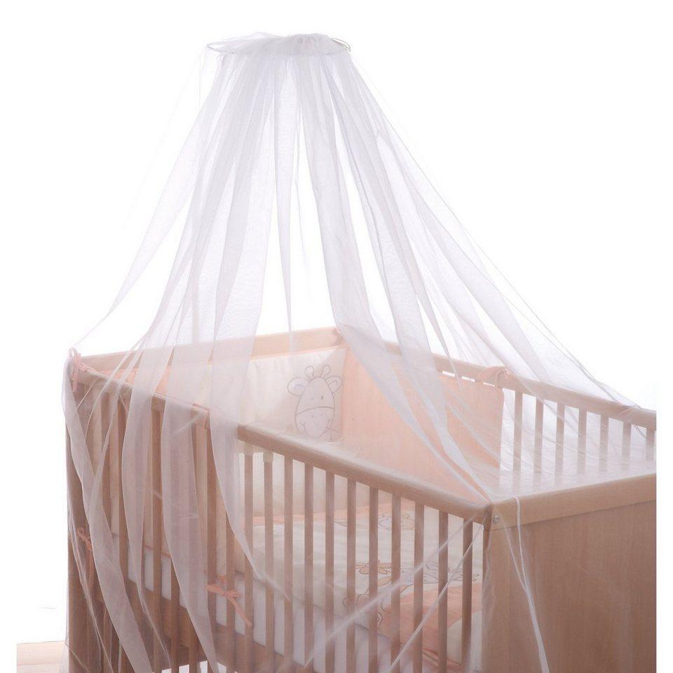 Alvi Insektennetz für Kinderbett in weiß
