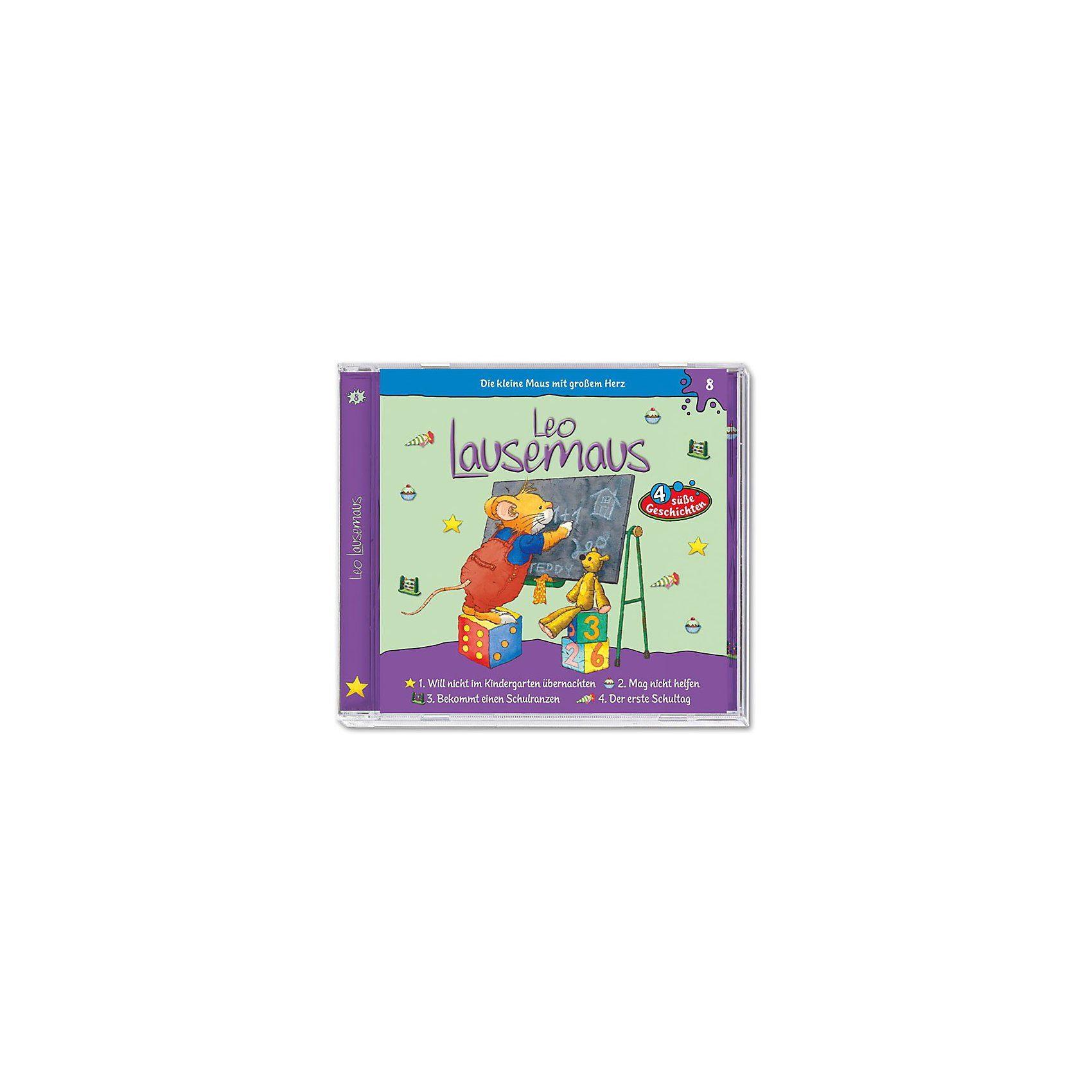 Kiddinx CD Leo Lausemaus - Folge 8 - Will nicht im Kindergarten über
