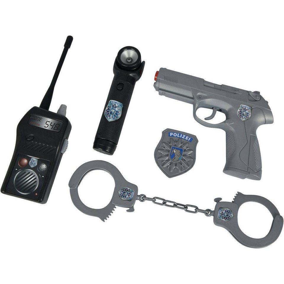 Simba Polizei Ausrüstung im Koffer