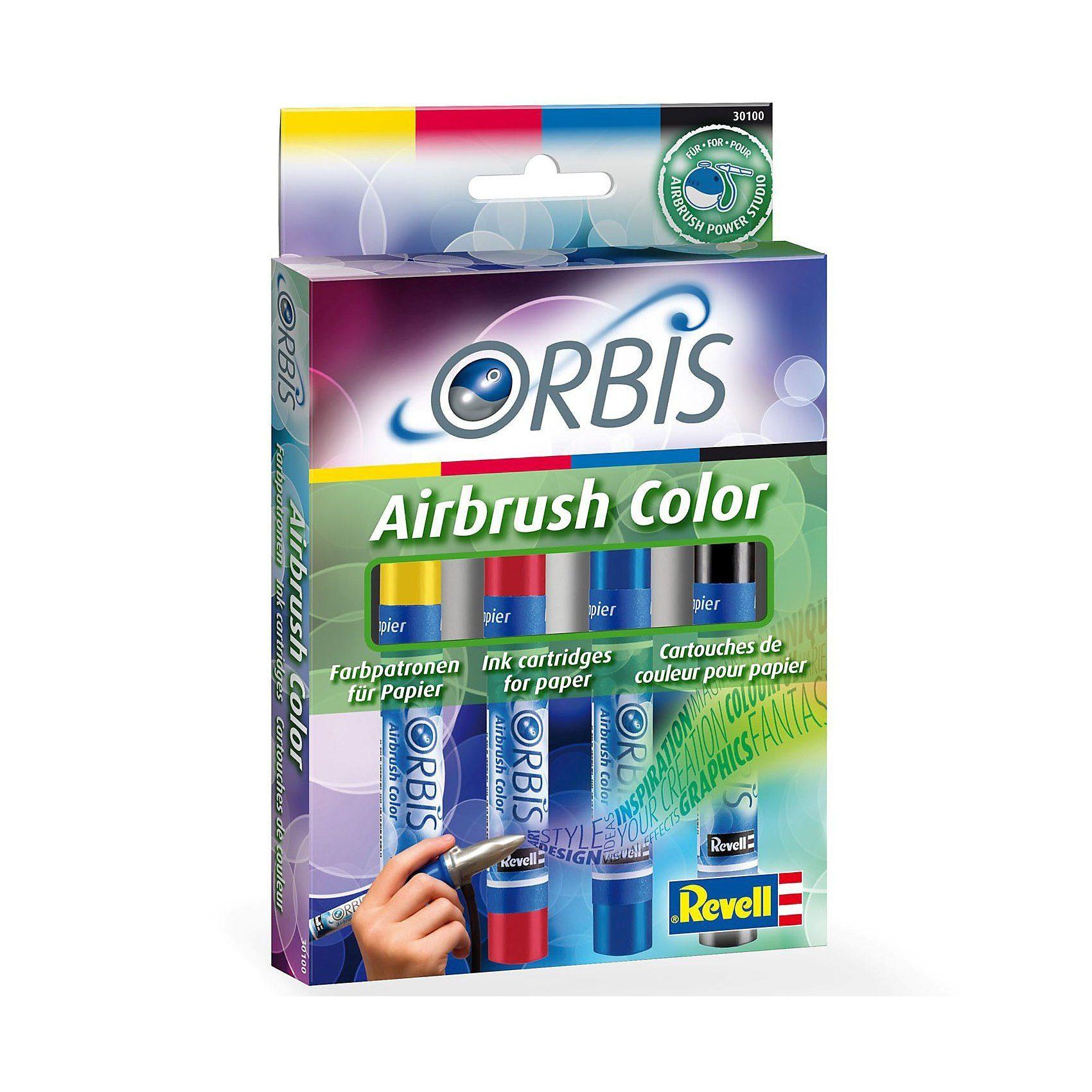 Revell Orbis 30100 Airbrush Papierpatronen Nachfüll-Set A