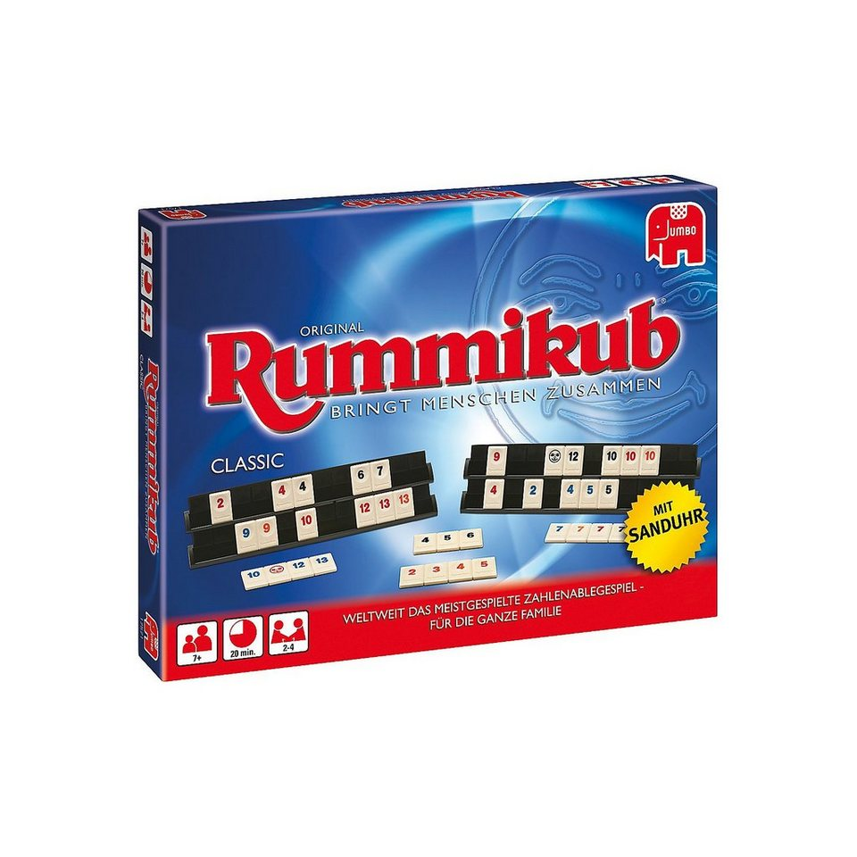 Jumbo SPIEL DES JAHRES 1980 Original Rummikub Classic - mit Sanduh