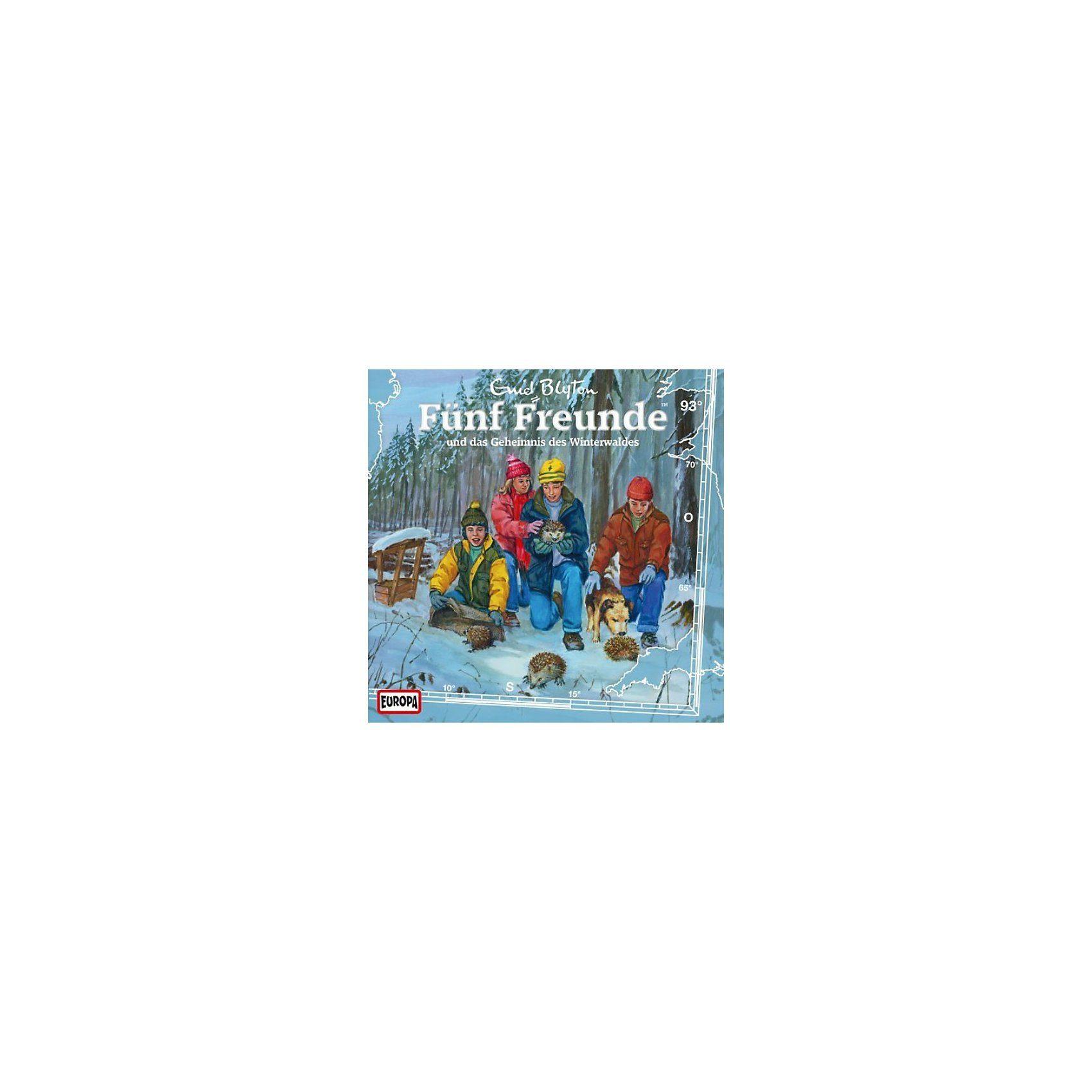 Sony CD Fünf Freunde 093/und das Geheimnis des Winterwaldes