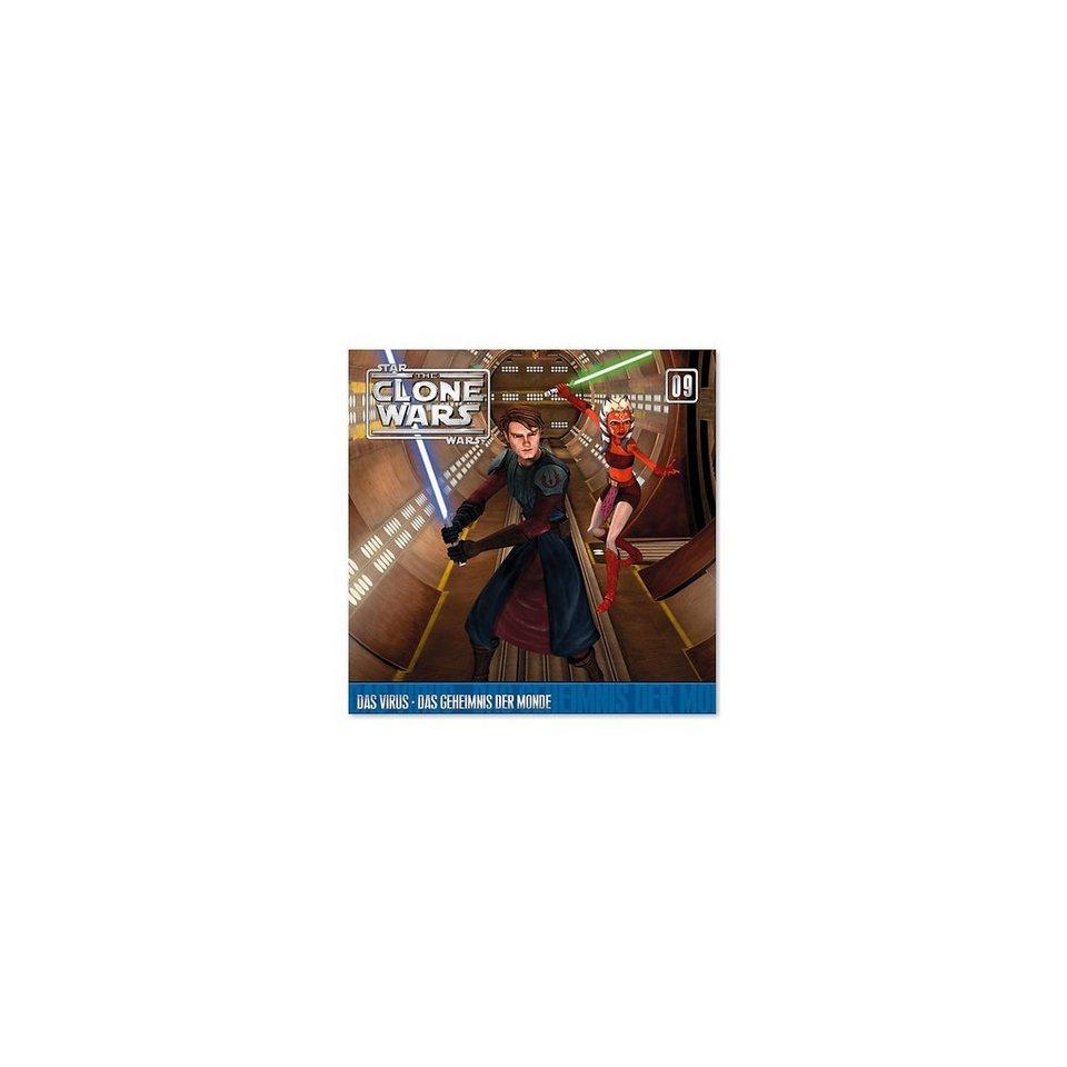 Universal Music GmbH CD Star Wars - The Clone Wars 09 Das Virus/Geheimnis der Mon