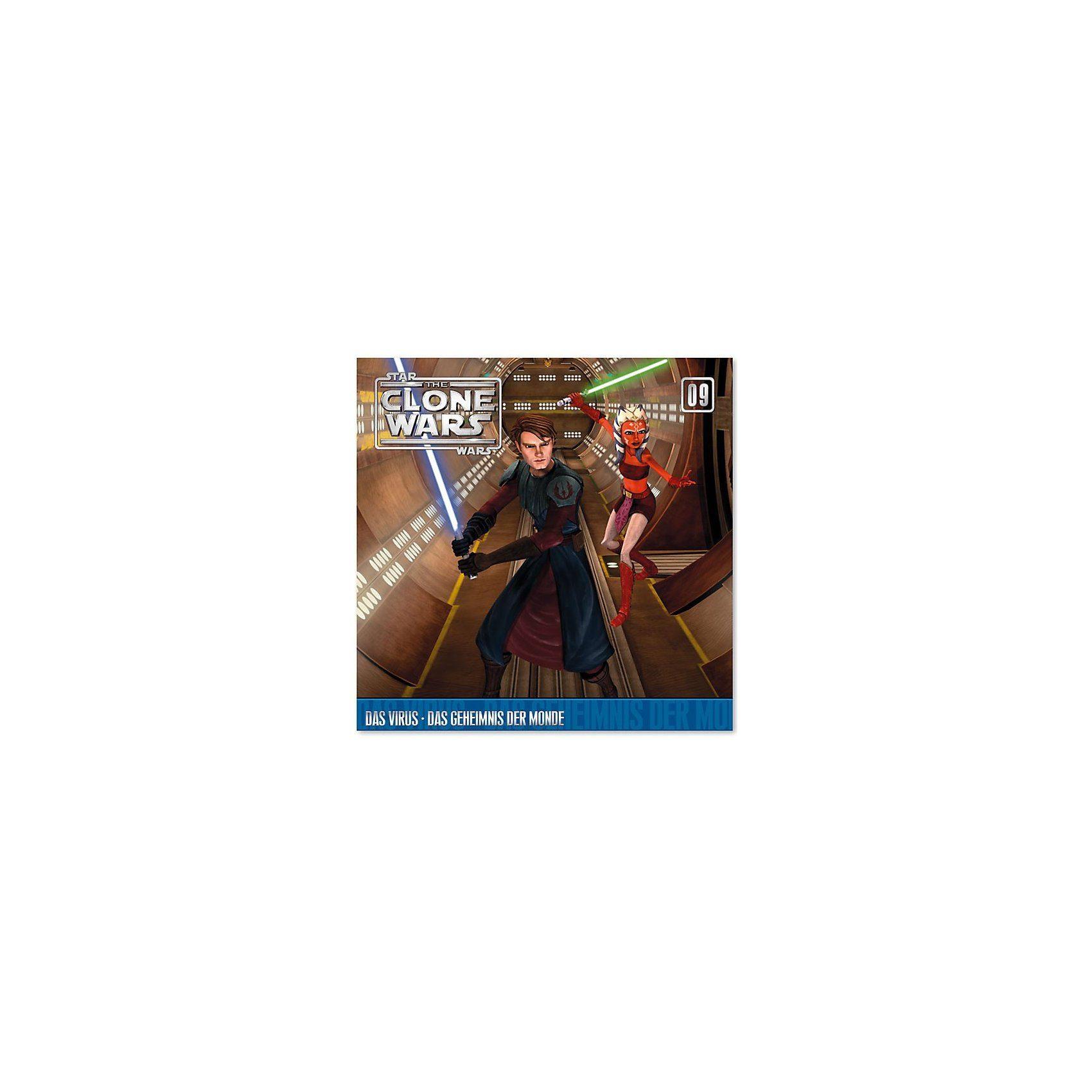 Universal CD Star Wars - The Clone Wars 09 Das Virus/Geheimnis der Mon