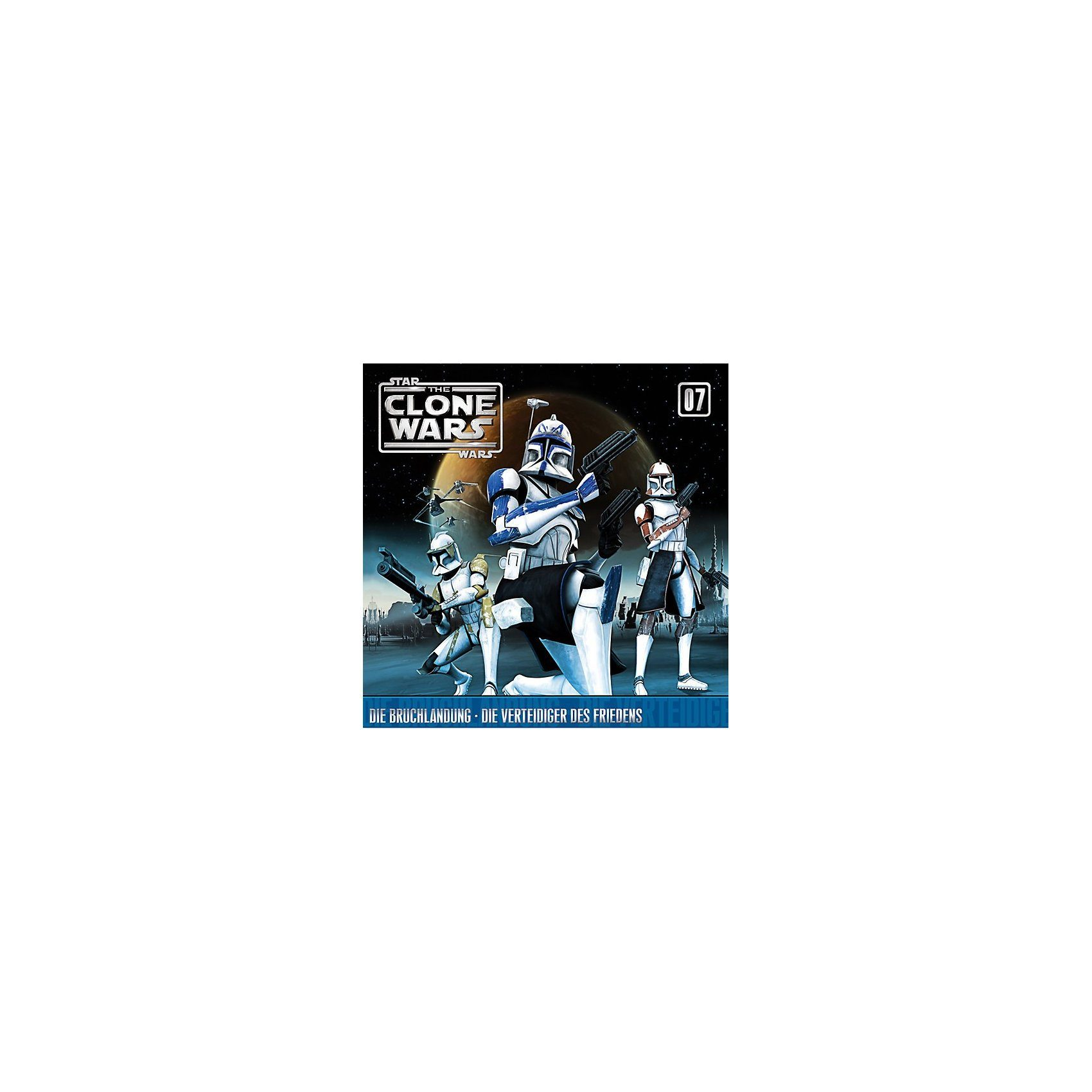 Universal CD Star Wars - The Clone Wars 07 - Die Bruchlandung/Die Vert