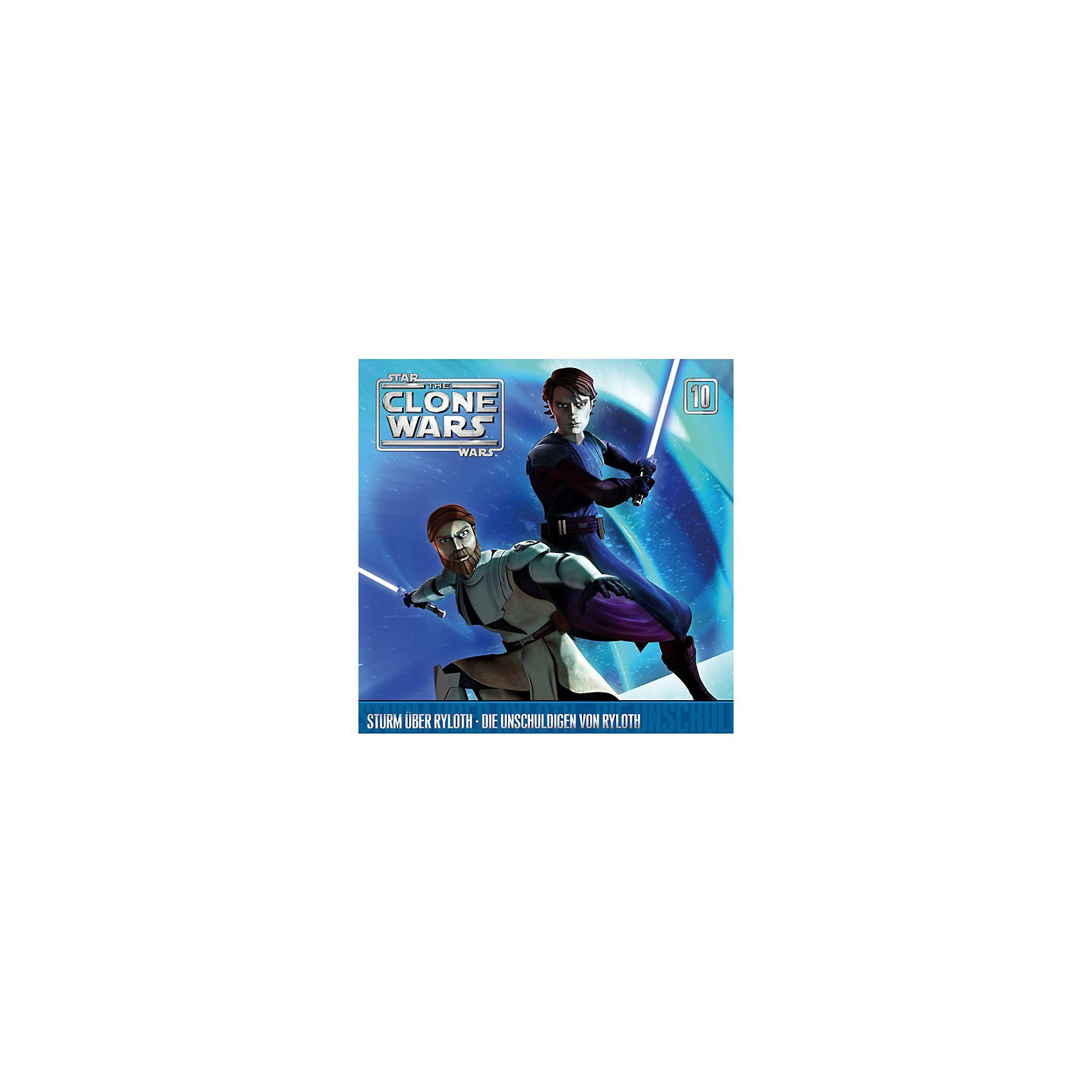 Universal Music GmbH CD Star Wars - The Clone Wars 10 - Sturm über Ryloth/Unschul