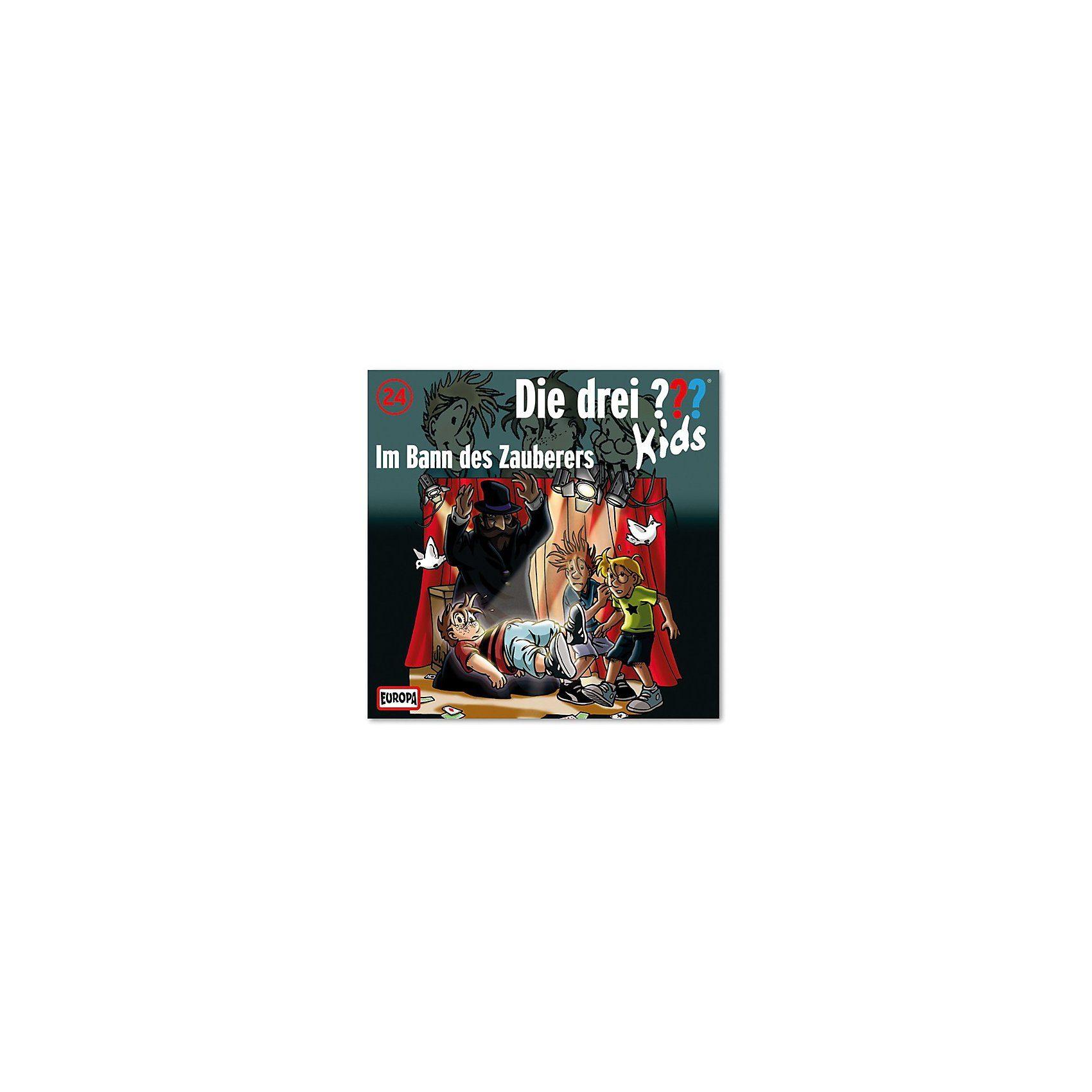 SONY BMG MUSIC CD Die drei ??? Kids 24 - Im Bann des Zauberer