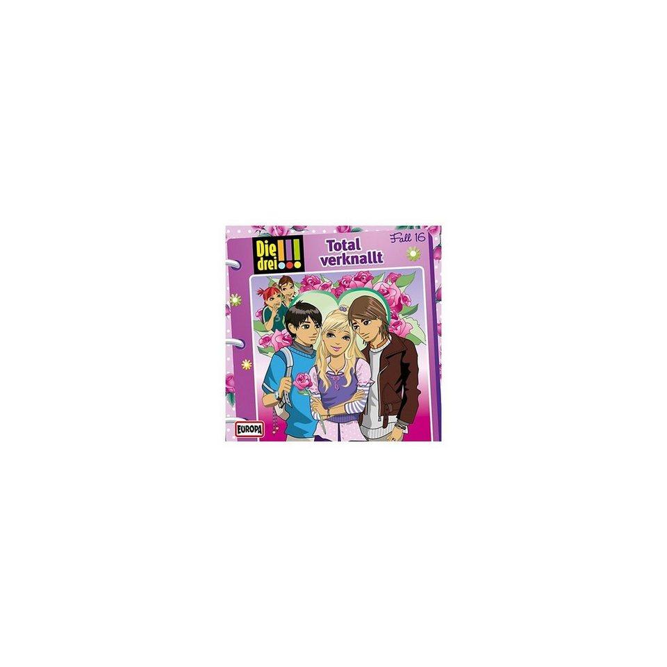 SONY BMG MUSIC CD Die Drei !!! 016 - Total verknallt!