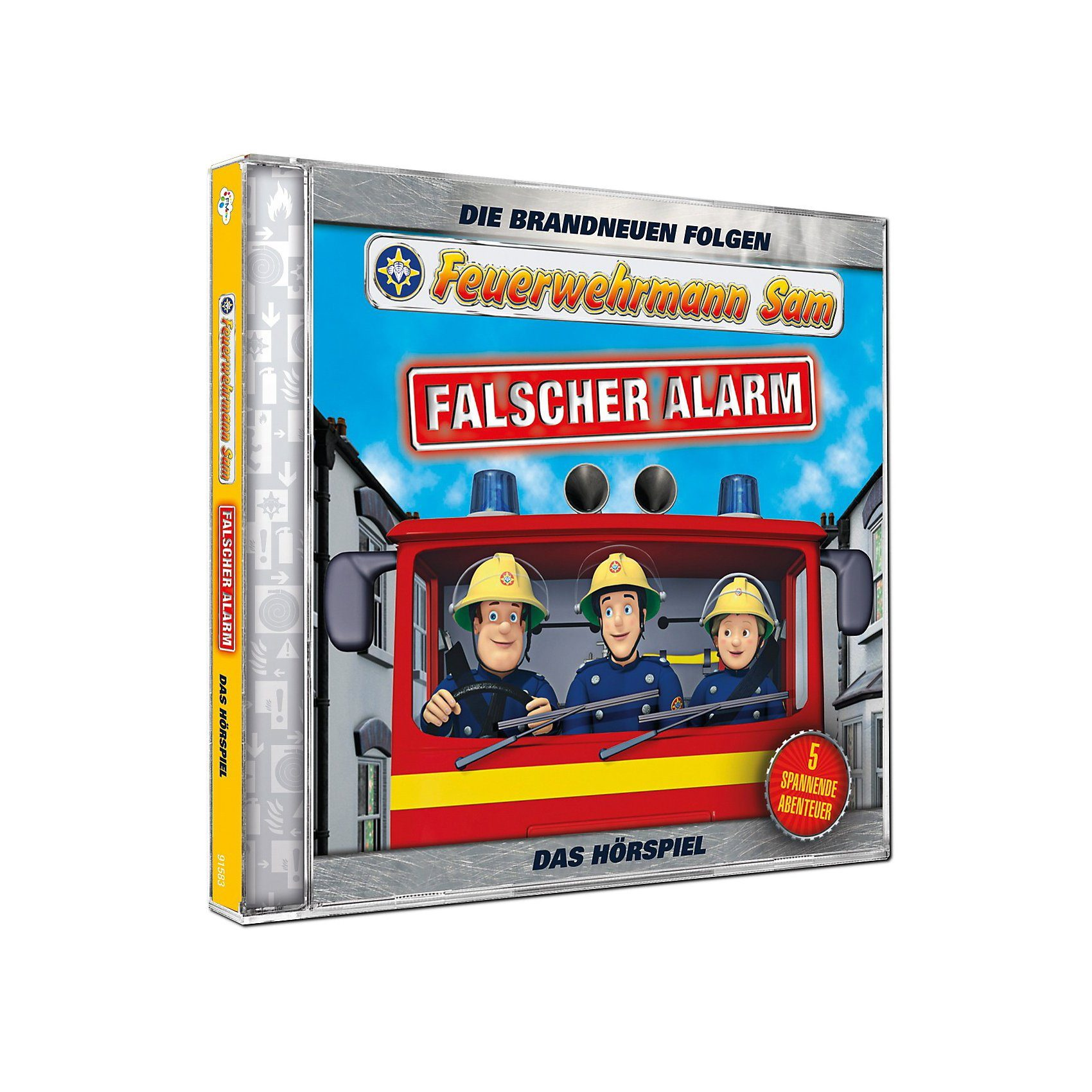 Just Bridge Entertainment CD Feuerwehrmann Sam - Falscher Alarm (Teil 4)