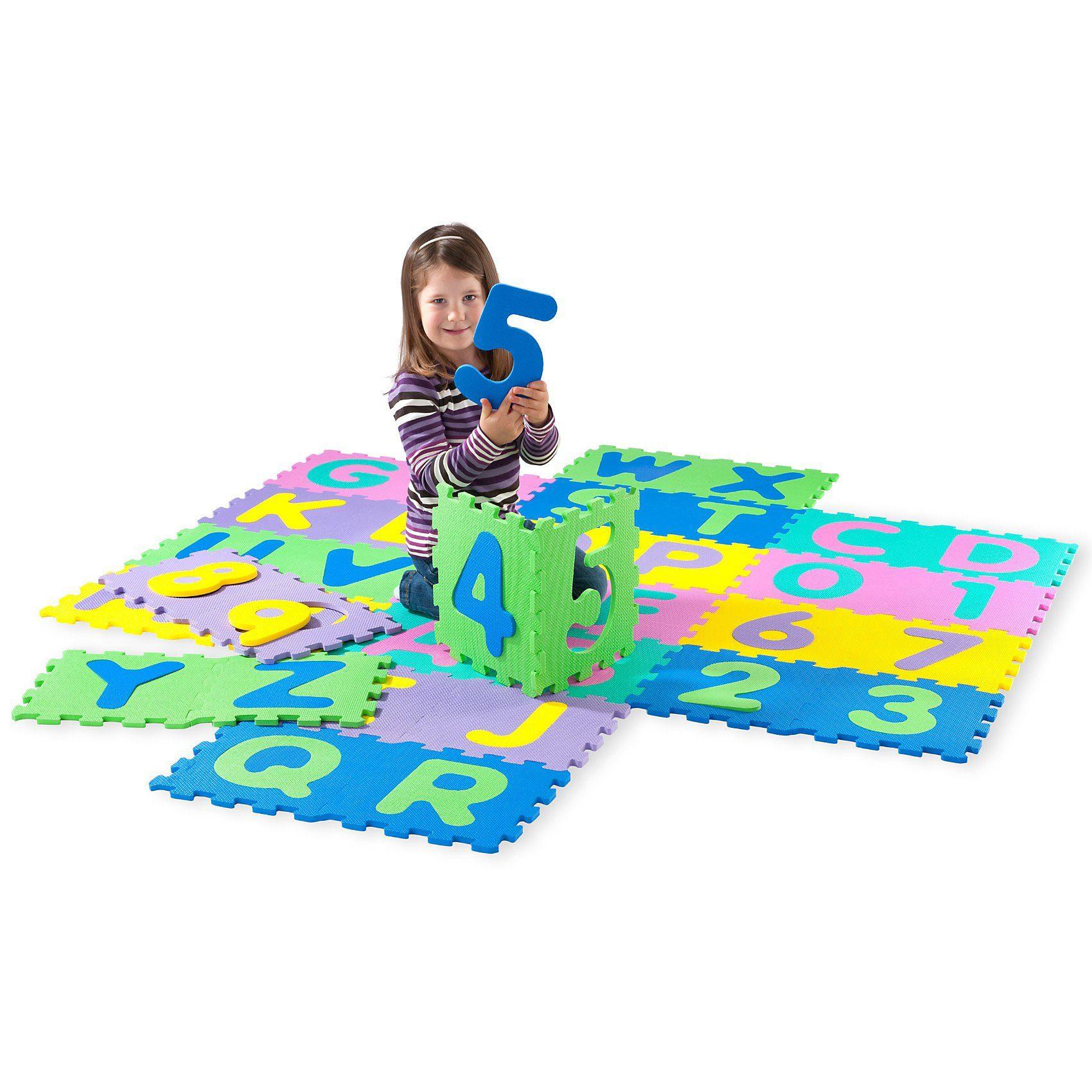 Playshoes Puzzlematte 36-teilig