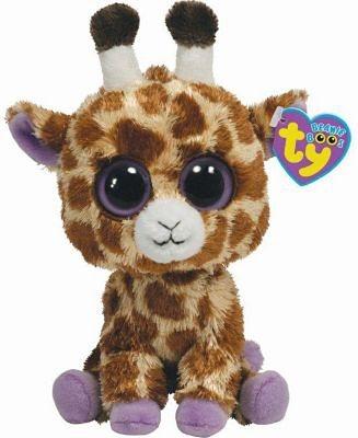 Ty Beanie Boo Giraffe Safari, 15 cm