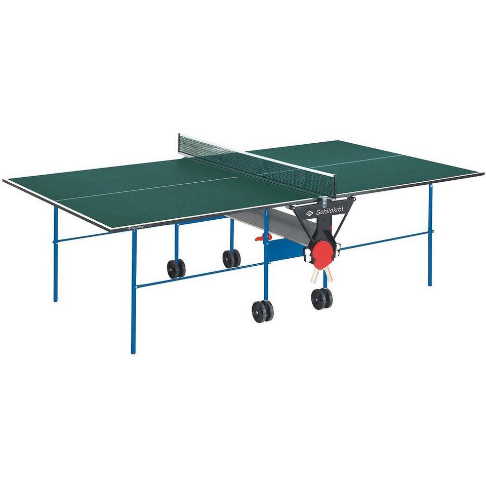 Schildkröt Funsports Schildkröt Indoor Tischtennisplatte 19mm in grün