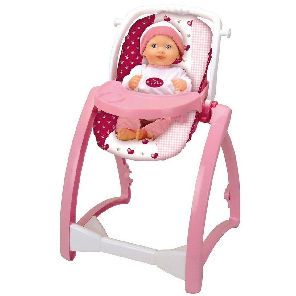 klein princess coralie puppenzubeh r hochstuhl 4 in 1. Black Bedroom Furniture Sets. Home Design Ideas