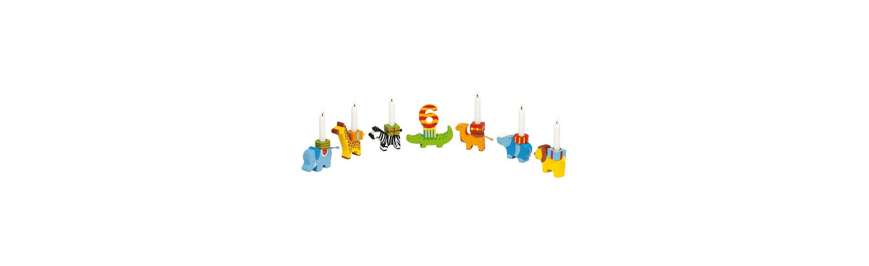 goki Geburtstagszug Tierparade