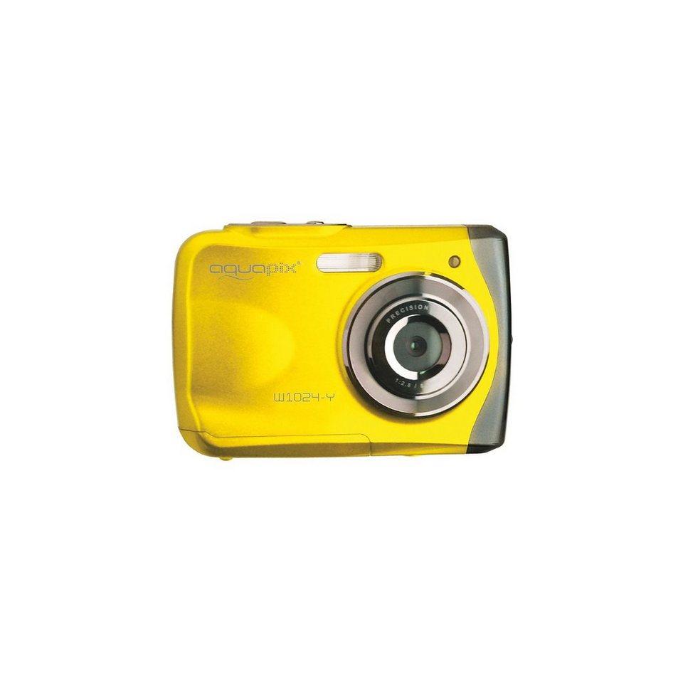 "easypix Unterwasser Digitalkamera Aquapix W1024 ""Splash"" - gelb"