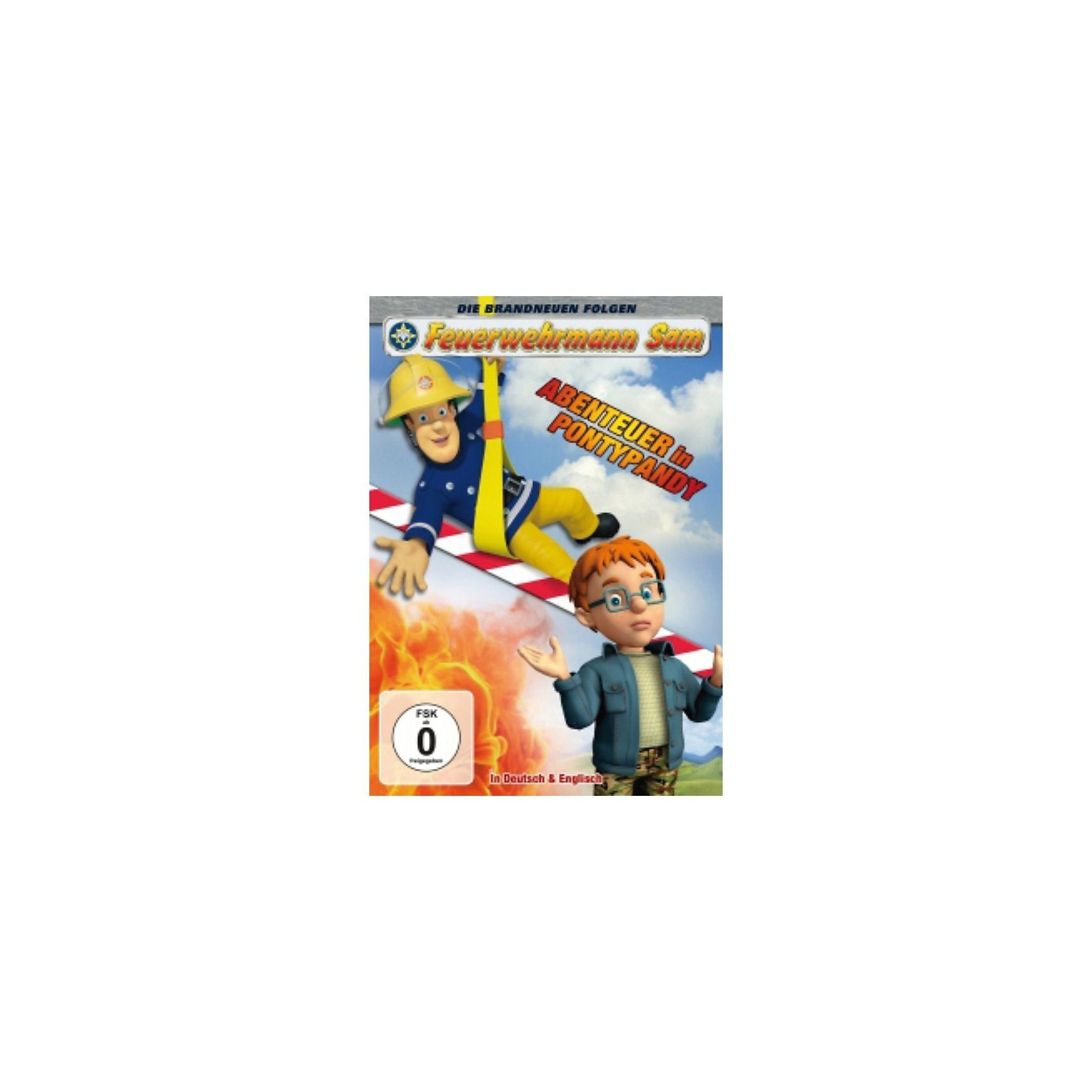 Just Bridge Entertainment DVD Feuerwehrmann Sam - Abendteuer in Pontypandy (Staffel 7