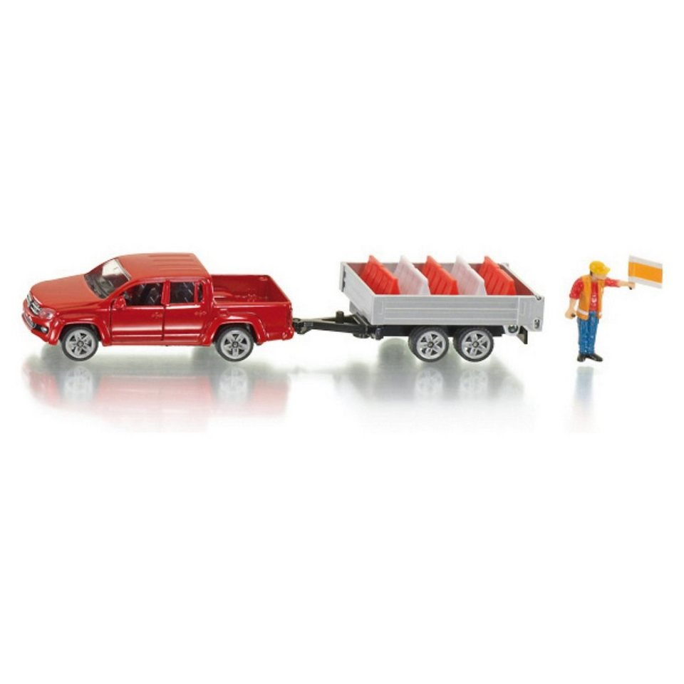 SIKU 3543 Pick-Up mit Kippanhänger 1:55