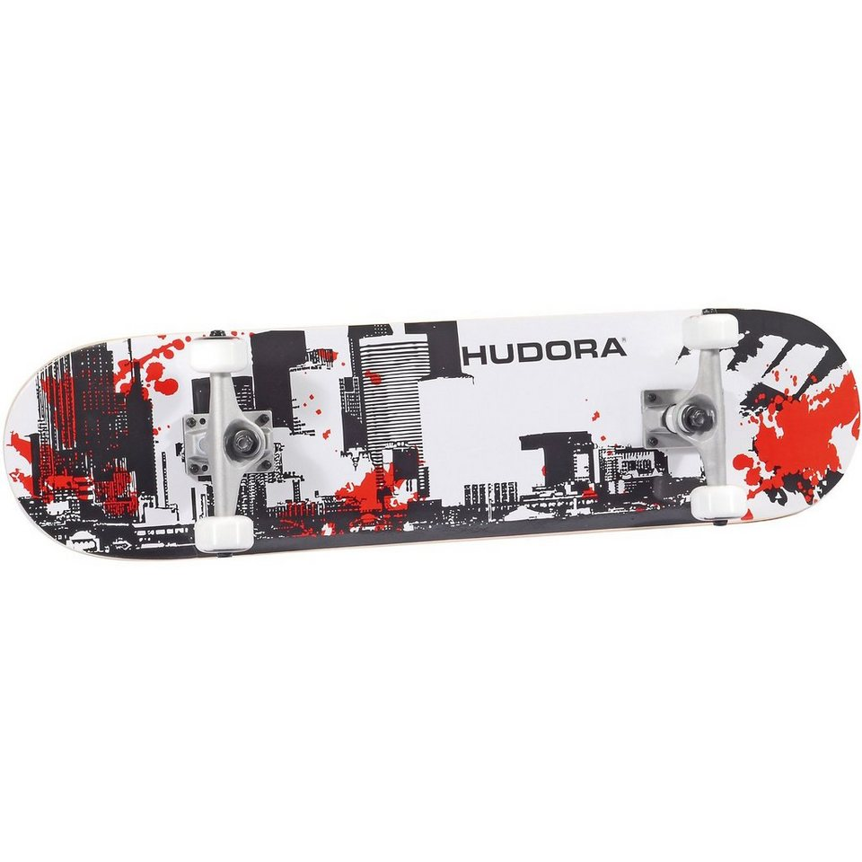 Hudora Skateboard City, ABEC 5 in gemustert