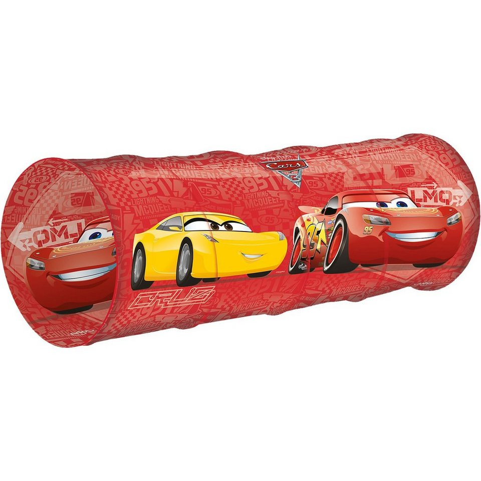 JOHN Pop Up Spieltunnel Cars