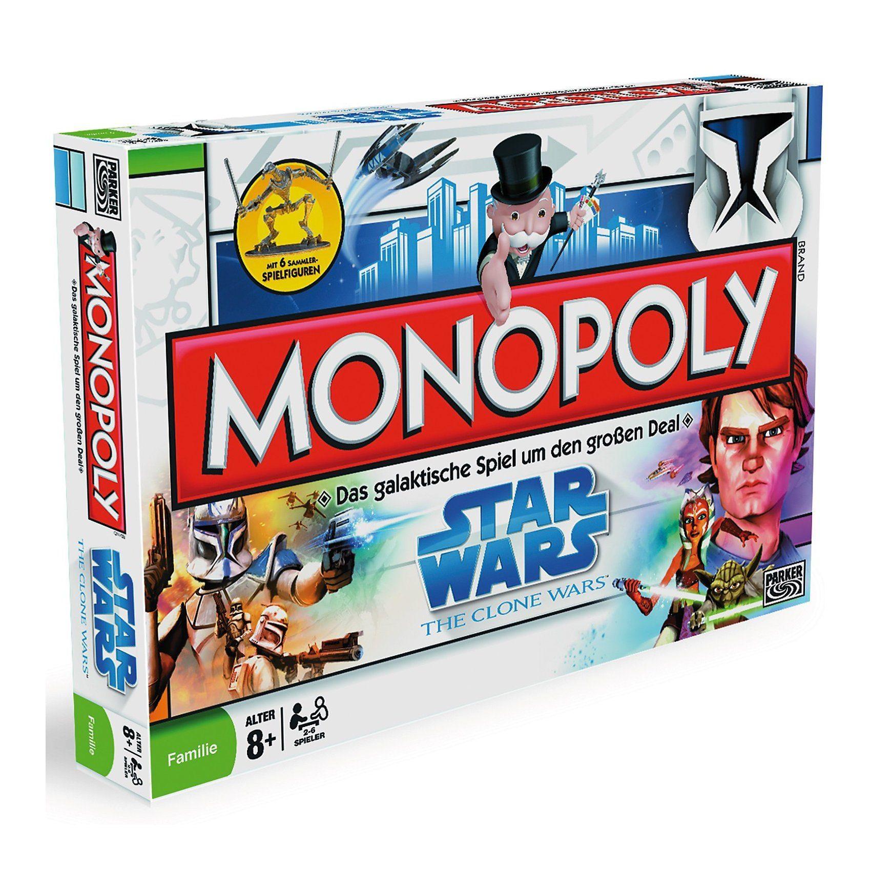 Hasbro Star Wars Monopoly