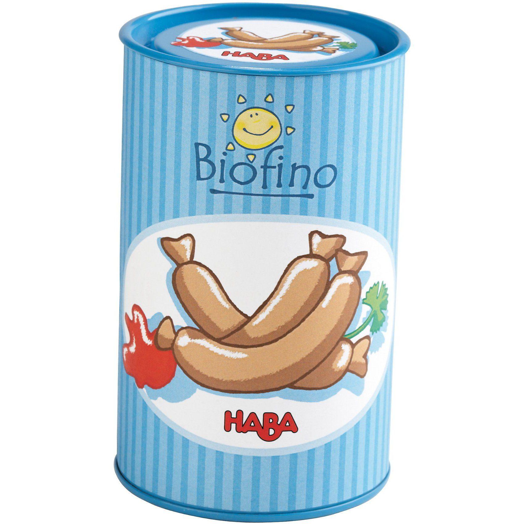 Haba 5179 Biofino Würstchen in der Dose Spiellebensmittel