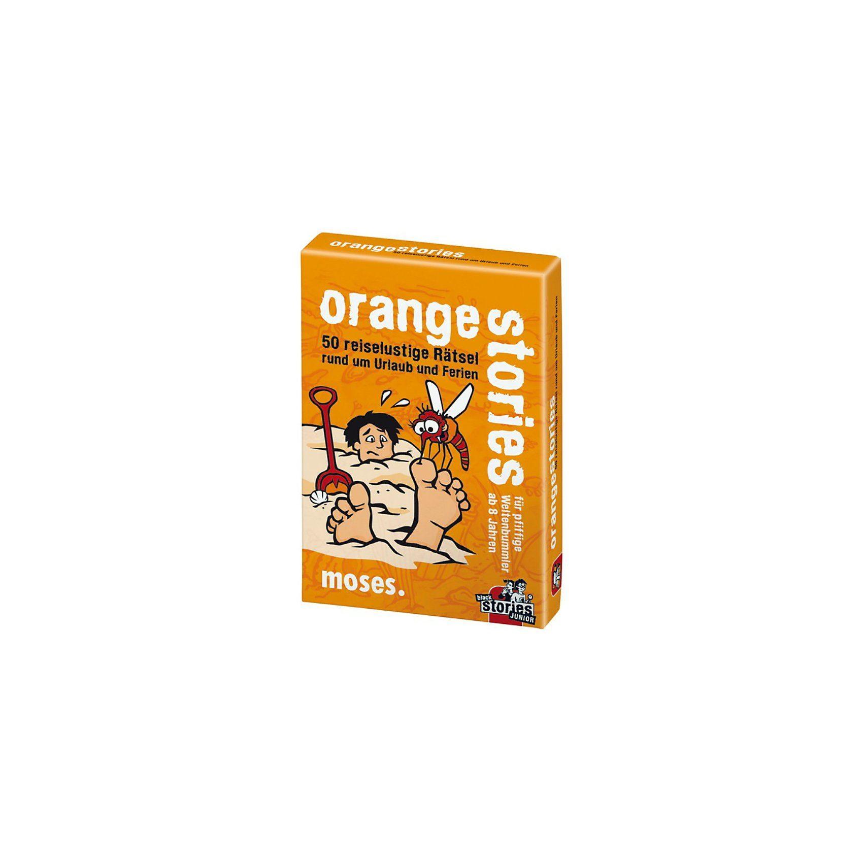 moses Orange Stories - 50 reiselustige Rätsel rund um Urlaub und F