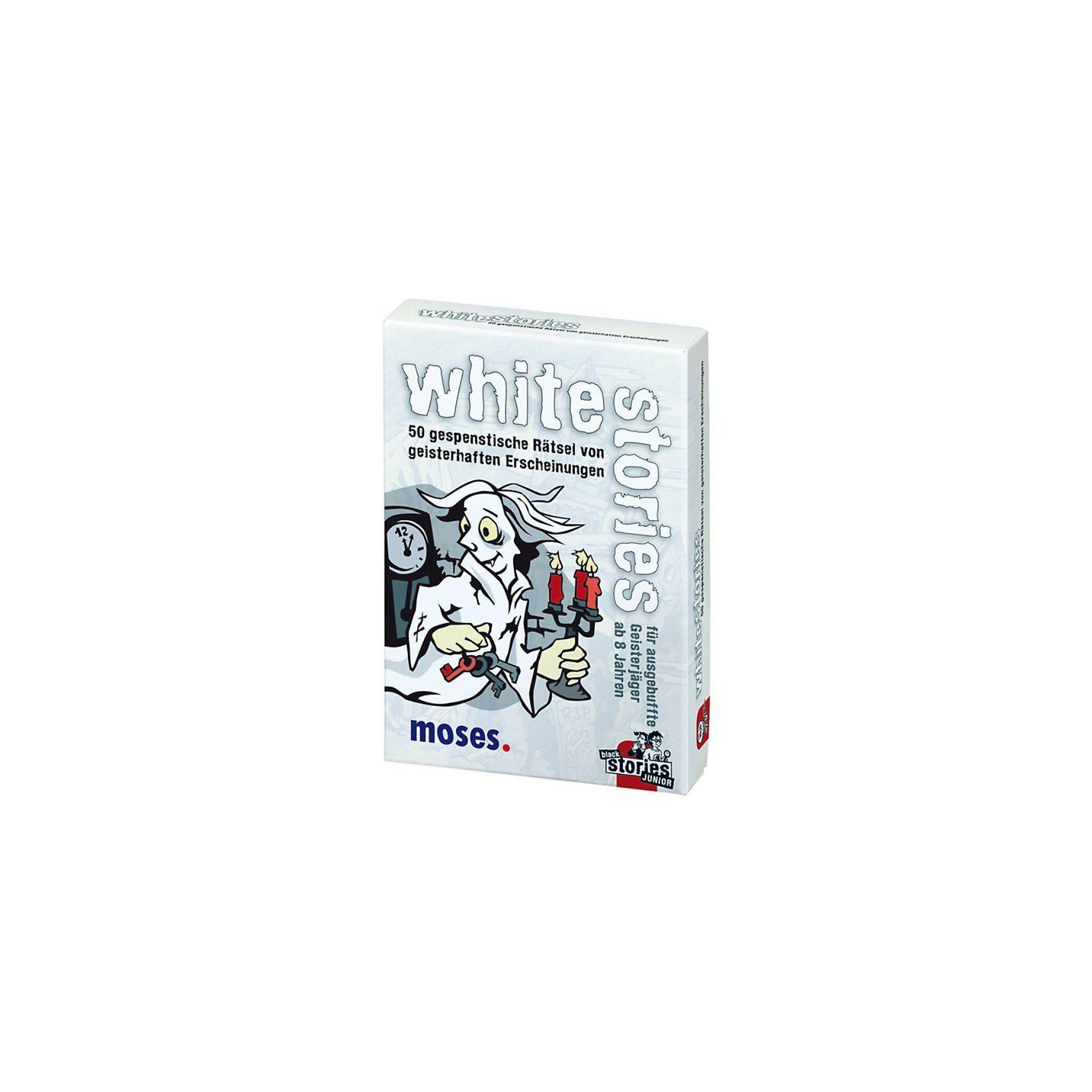 moses White Stories - 50 gespenstische Rätsel von geisterhaften Er