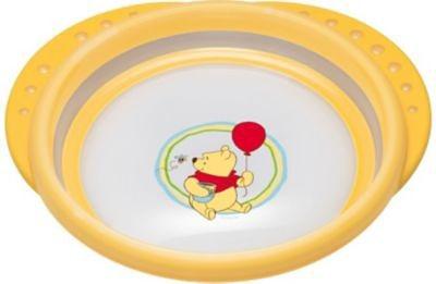 NUK Esslernteller Easy Learning, Winnie the Pooh, gelb in gelb