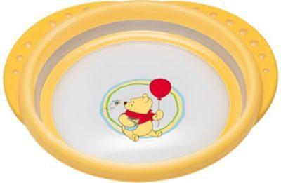 NUK Esslernteller Easy Learning, Winnie the Pooh, gelb