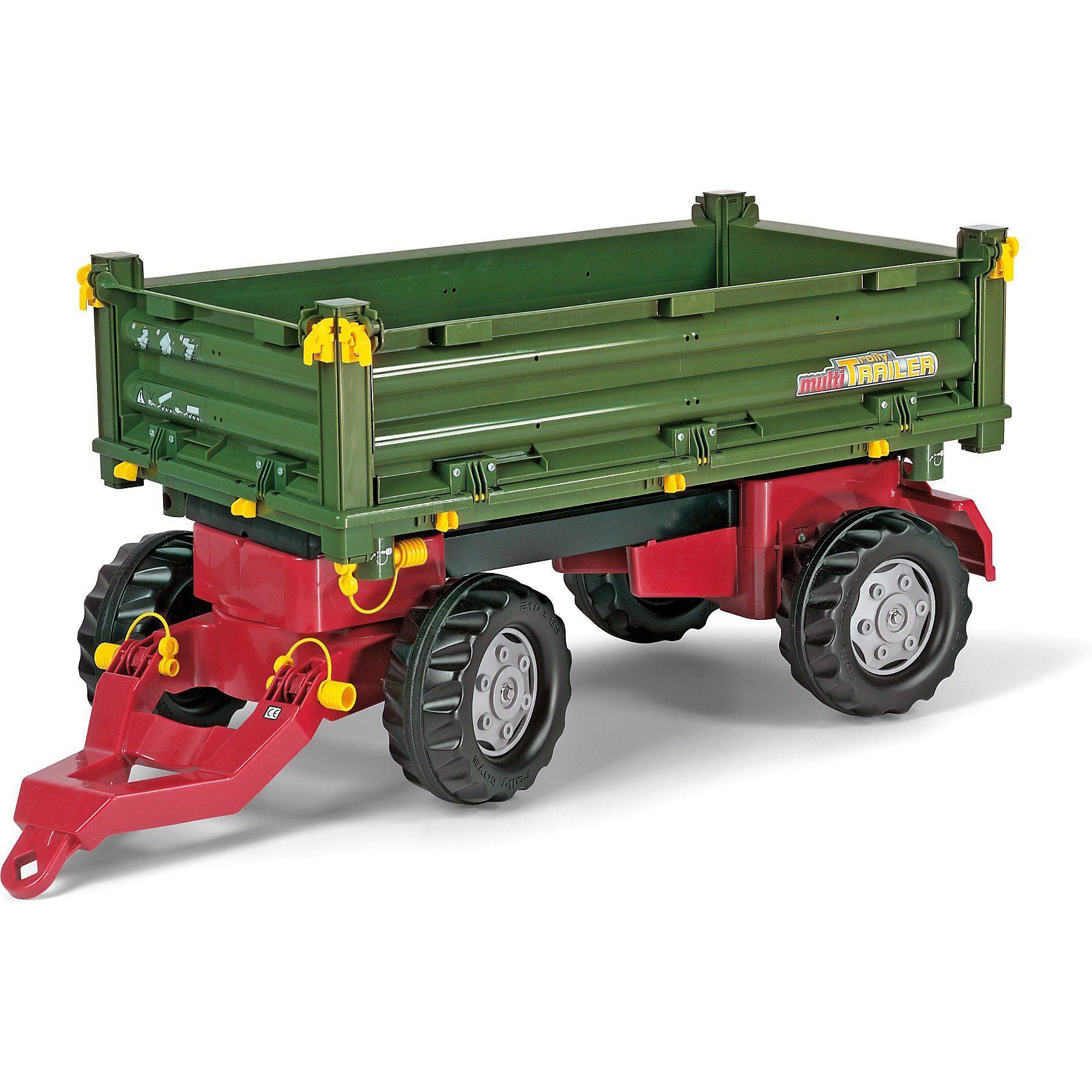 Rolly Toys Rolly Multitrailer 2-Achs-Dreiseitenkipper