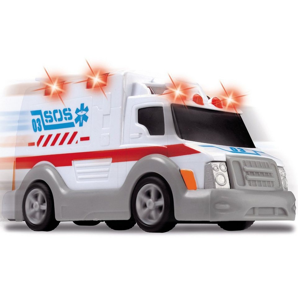 """Dickie Toys """"Ambulance"""" - Krankenwagen mit Licht und Sound"""