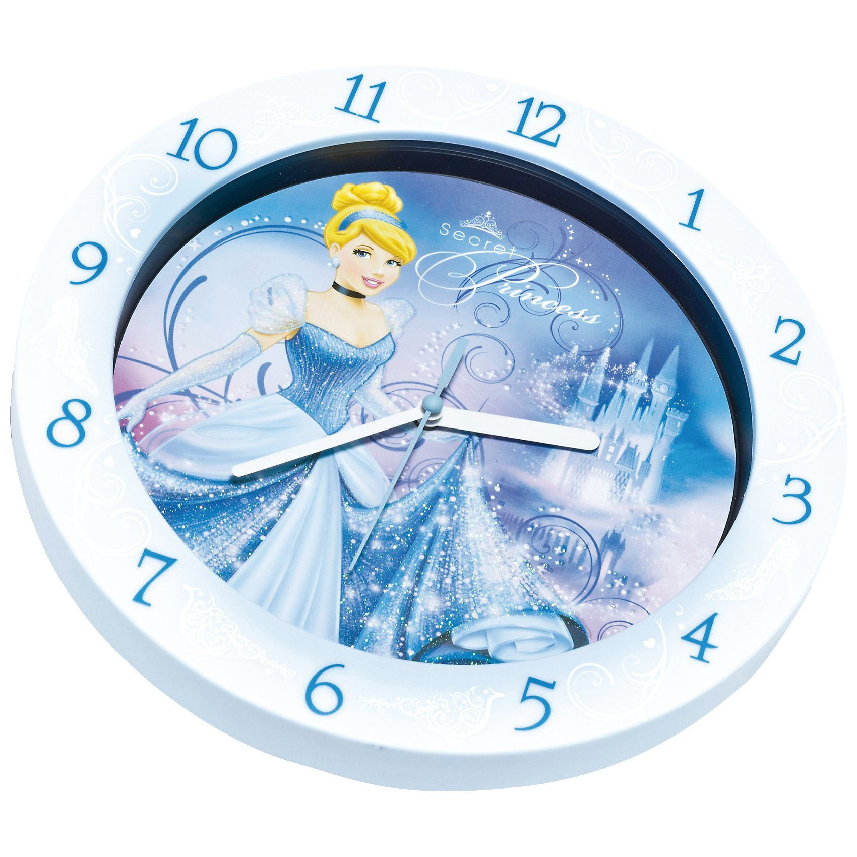 JOY TOY Disney Princess Wanduhr Cinderella
