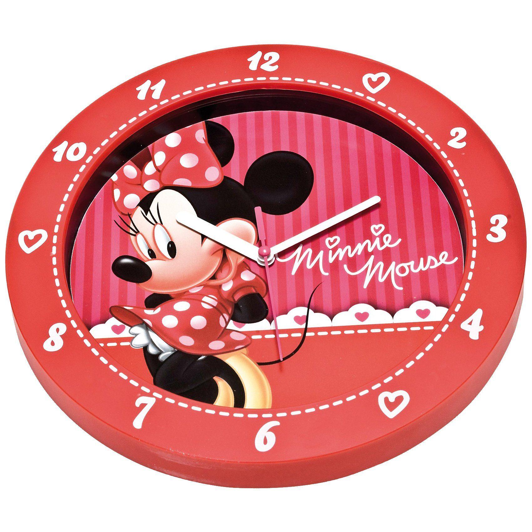Joy Toy Wanduhr Minnie Maus