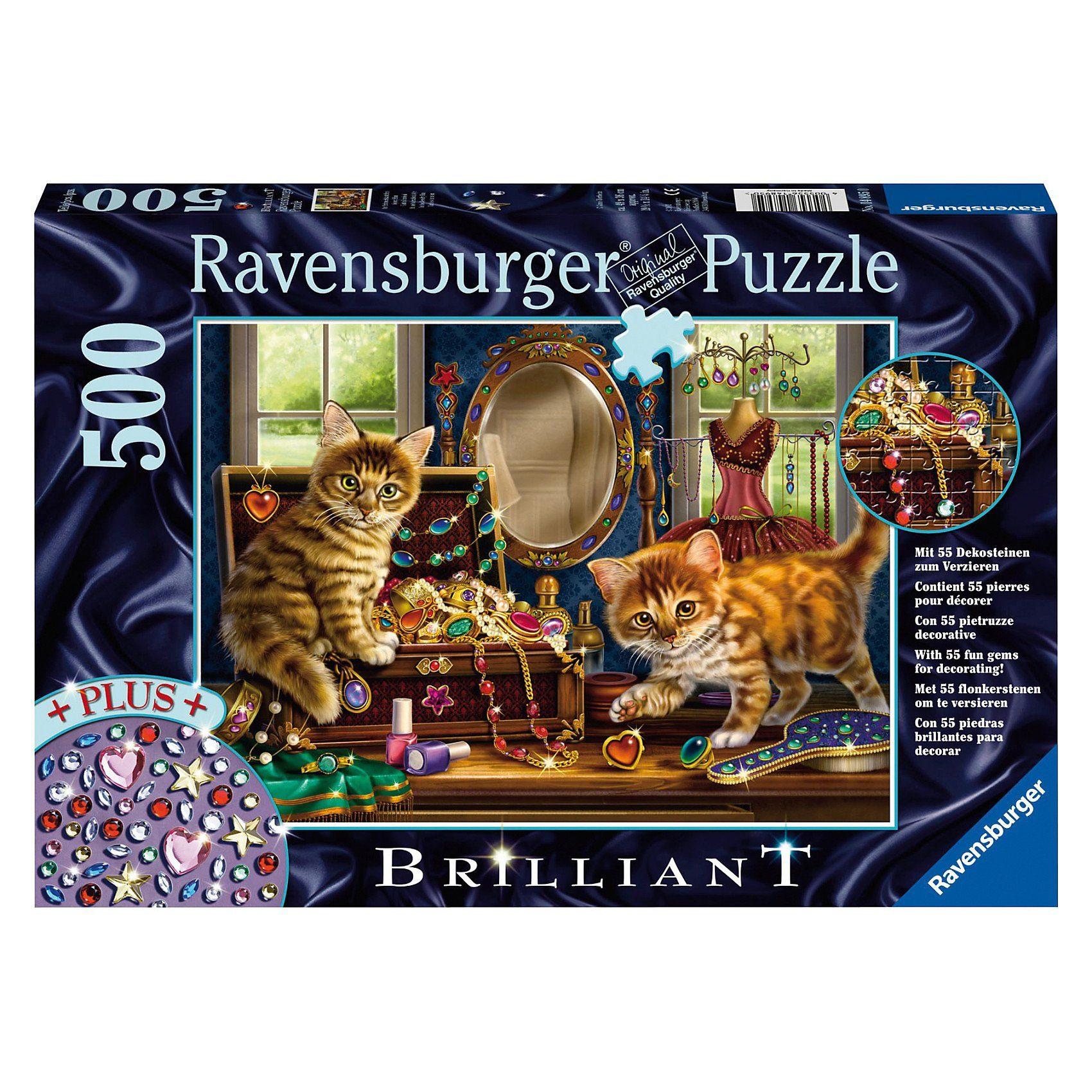 Ravensburger Brilliant Puzzle Im Schmuckkästchen 500 Teile
