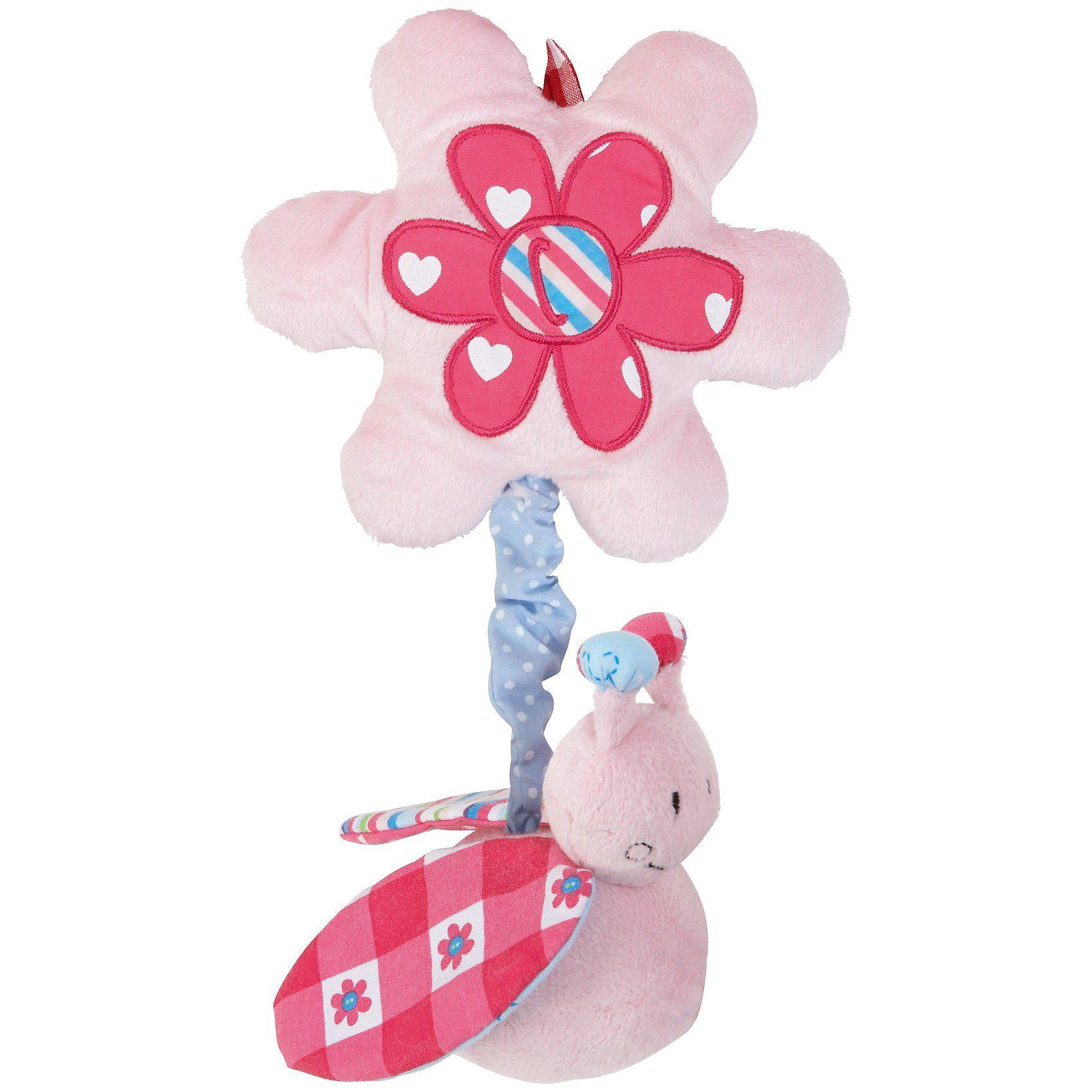 bébé-jou Vibrationsrassel ABC, rosa