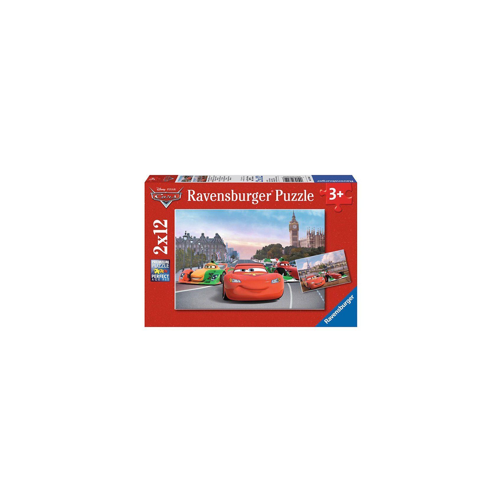 Ravensburger Puzzleset Disney Cars Lightning McQueen und seine Freunde 2