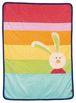 sigikid Rainbow Rabbit Decke