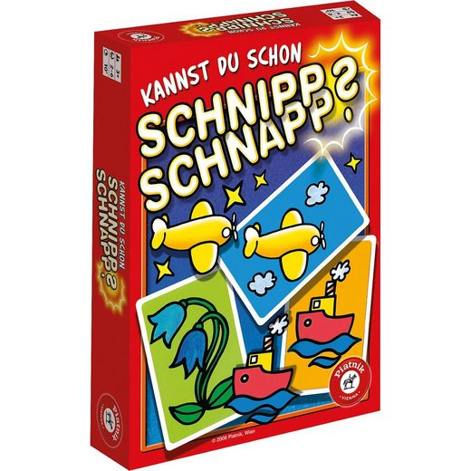 Piatnik Kannst du schon Schnipp Schnapp?