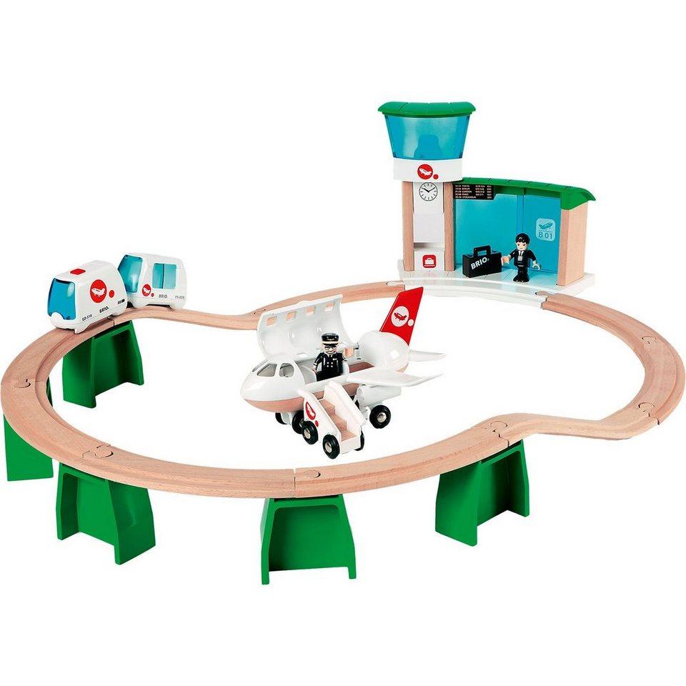 BRIO Monorail Flughafen Set