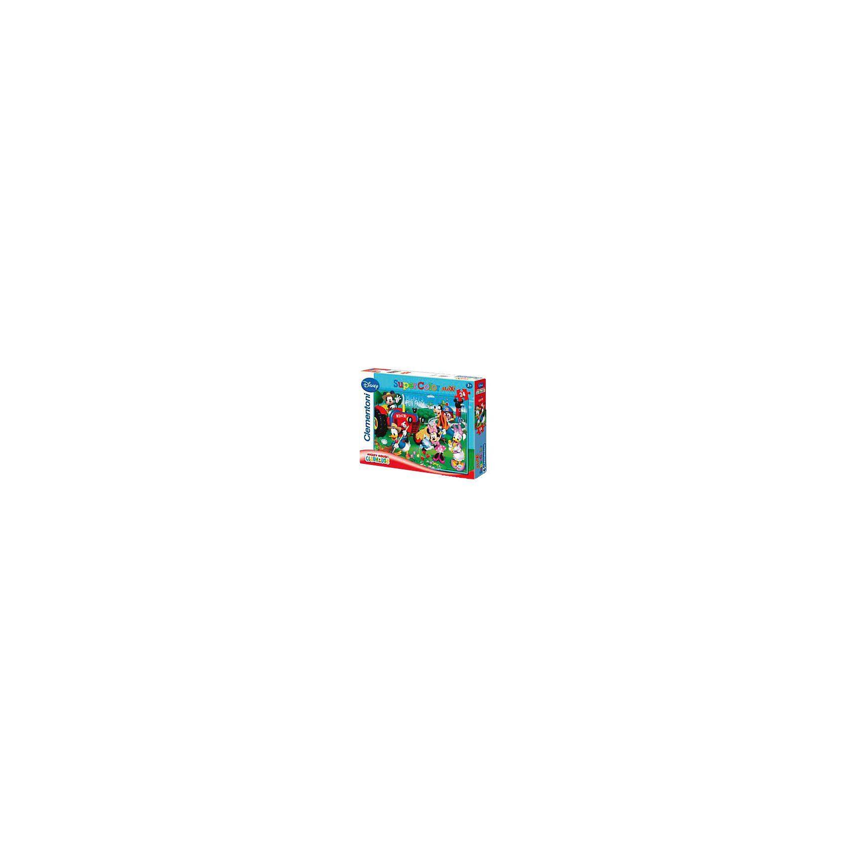 Clementoni Maxi Puzzle 24 Teile - Mickey's Fun Farm