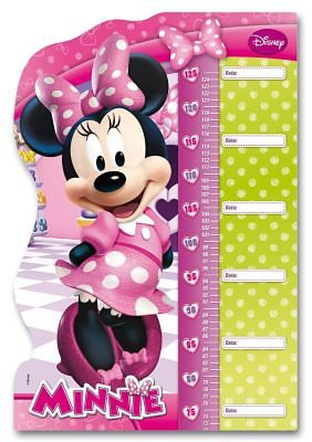 Clementoni Double Fun Puzzle als Messlatte 30 Teile Maxi - Minnie Mouse