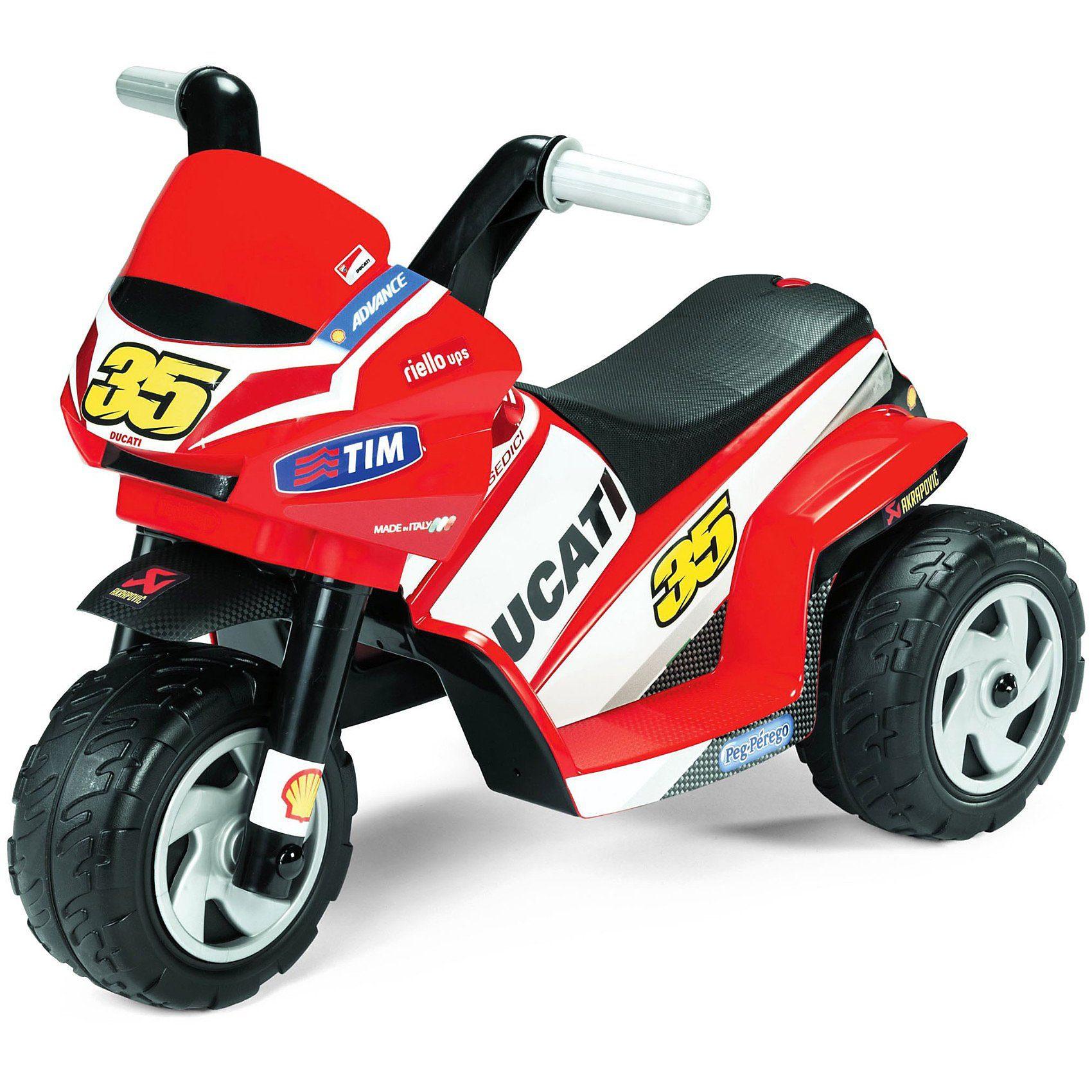 Peg Perego Elektrofahrzeug Mini Ducati 6V
