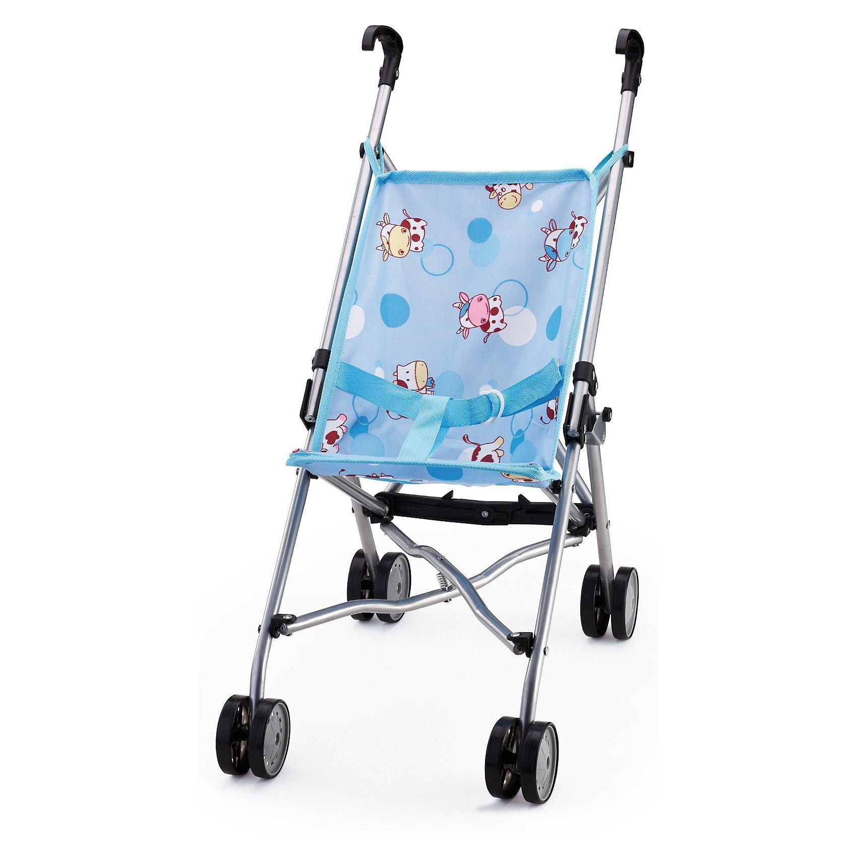 BAYER Puppenwagen Buggy blue muh