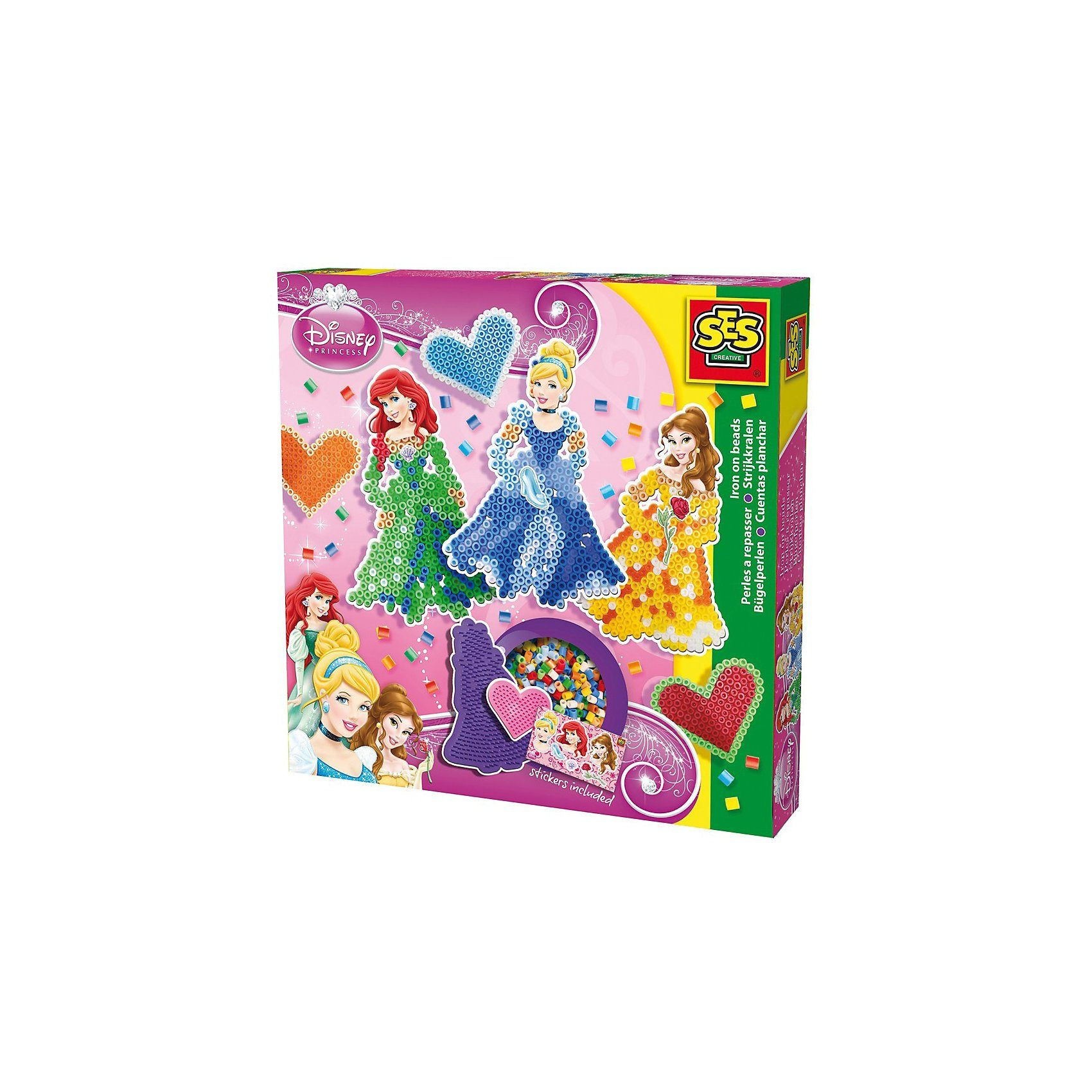 SES Creative Creative Bügelperlenset Disney Princess
