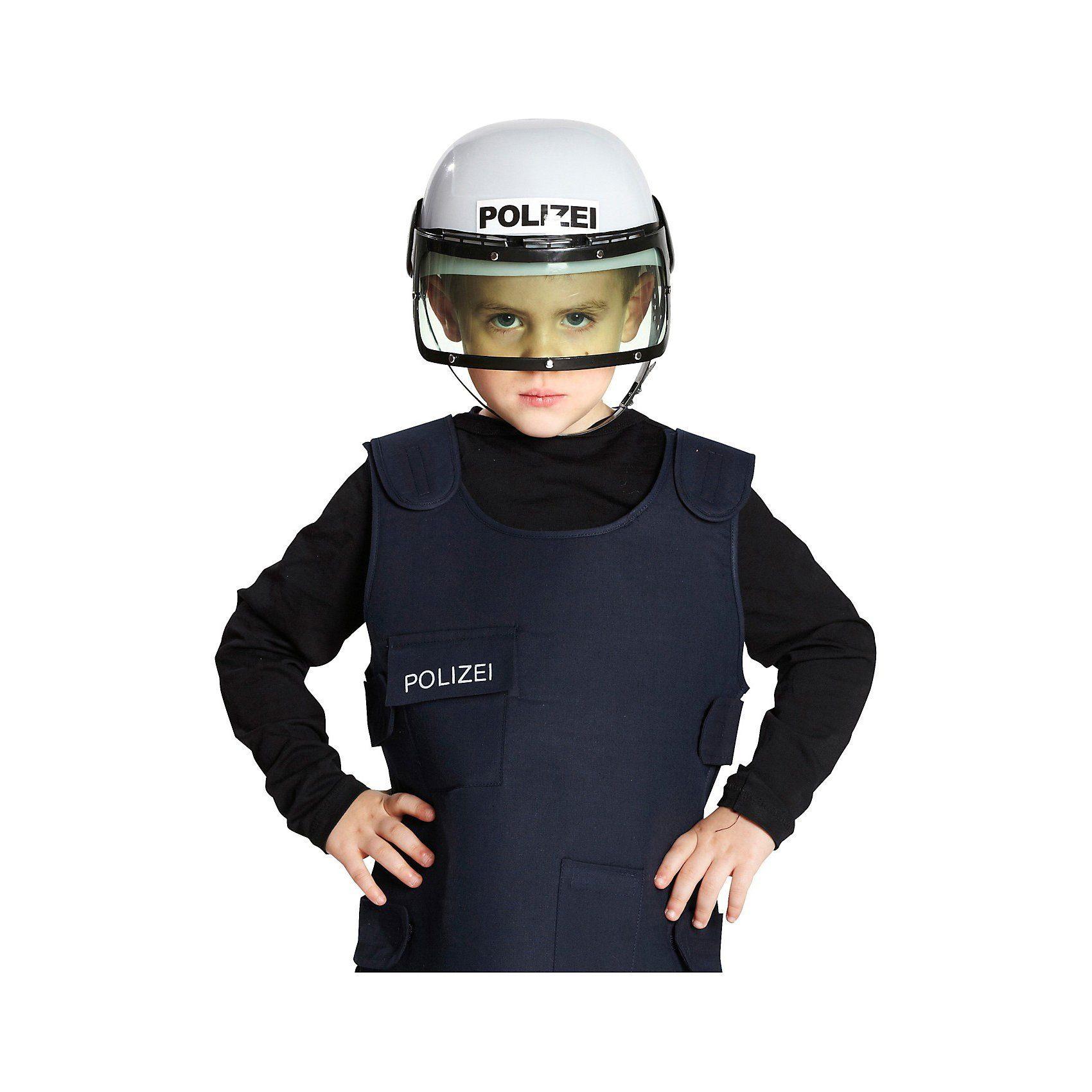 Unisex Rubie´s Polizeihelm  | 04002162469714