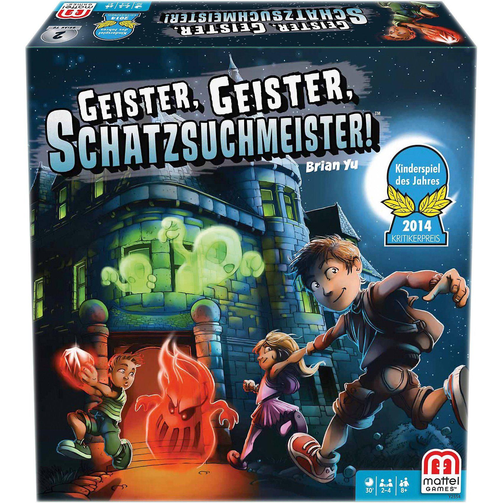 Mattel® Games KINDERSPIEL DES JAHRES 2014 Geister, Geister, Schatzsu