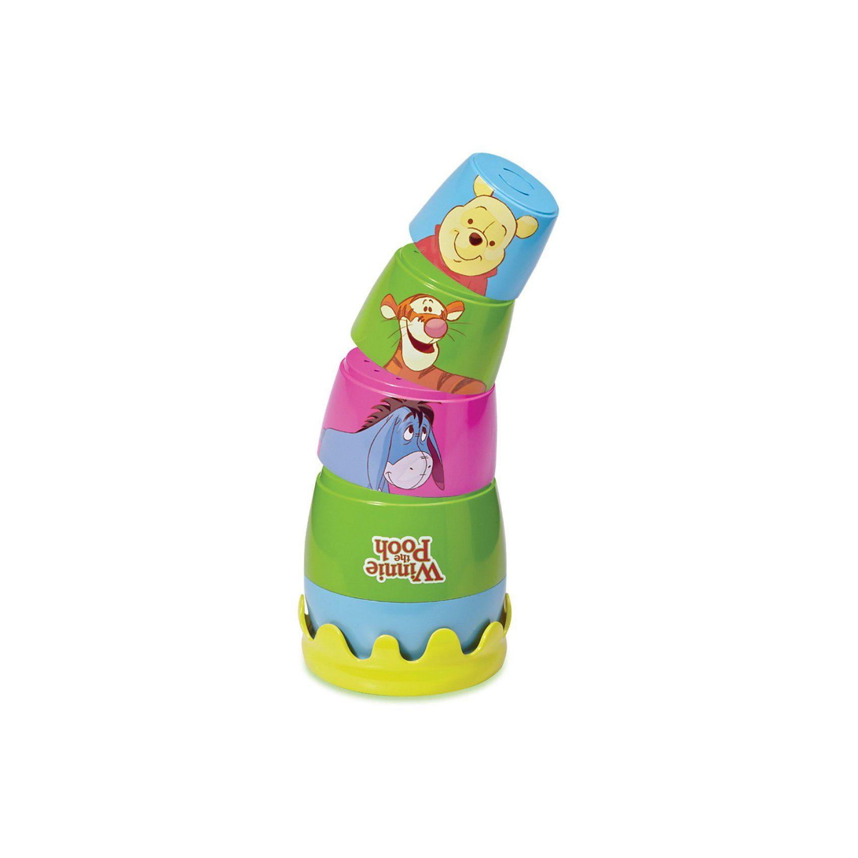 TOMY Winnie Puuh - Honigtöpfchen-Steckspielzeug