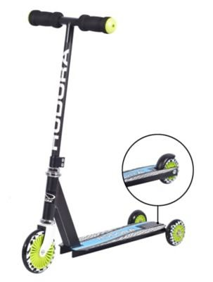 Hudora Kinderroller Evolution Boy in schwarz
