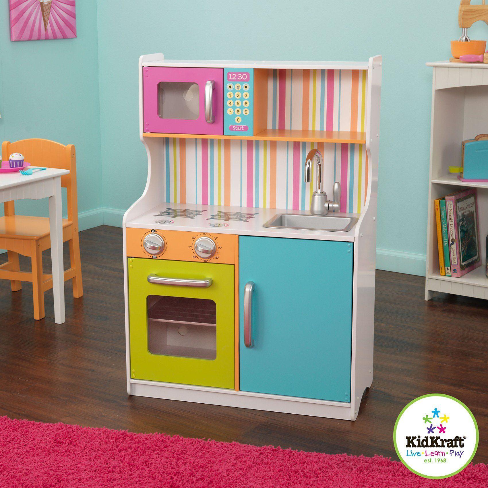 KidKraft® Spielküche in hellen Farben